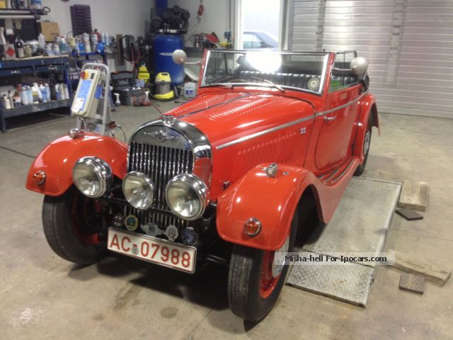 Morgan  4/4 Series 1 Drophead Coupe DHC 1948 Vintage, Classic and Old Cars photo