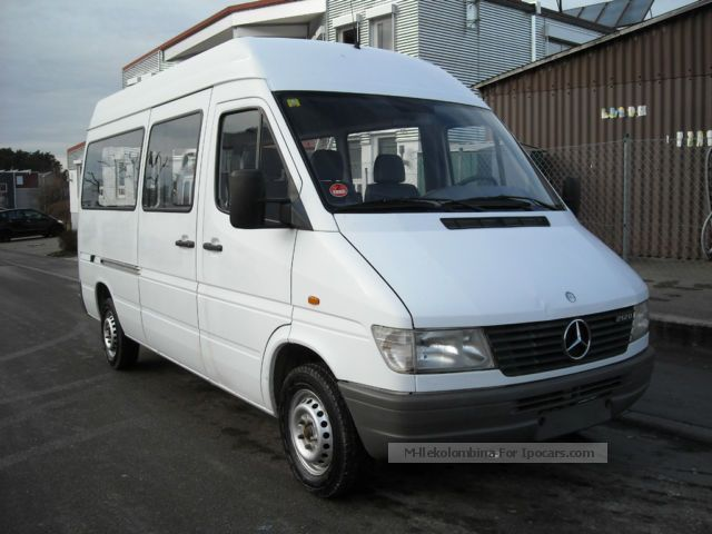1999 Mercedes Benz Sprinter 212 D Bus 9 Seats Estate Car Used Vehicle Photo