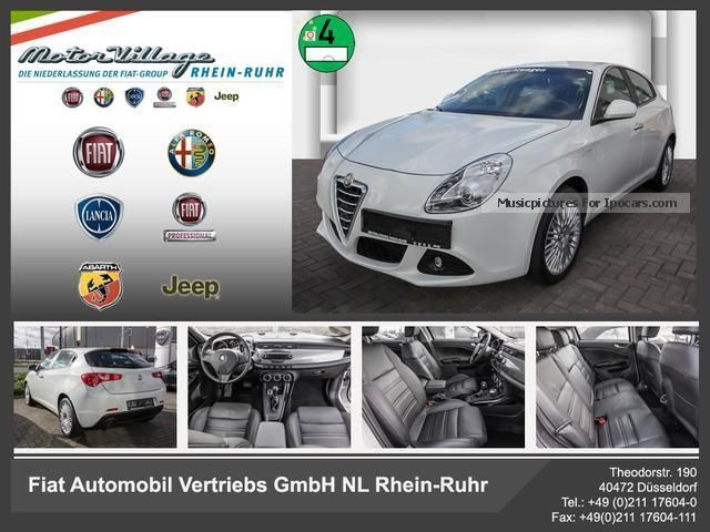2012 Alfa Romeo  Giulietta 1.4 TB MultiAir 16V Turismo automatic Saloon Used vehicle photo
