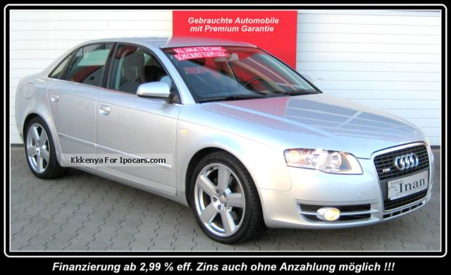 2007 Audi  A4 Sedan 2.0 TDI S-Line package Neupr Sp. € 40,000 Saloon Used vehicle photo