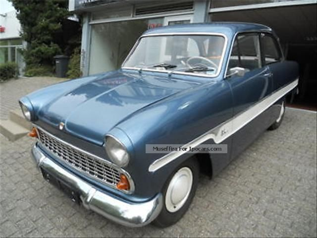 Ford  Taunus 12M strip Taunus extensively restored! 1962 Vintage, Classic and Old Cars photo