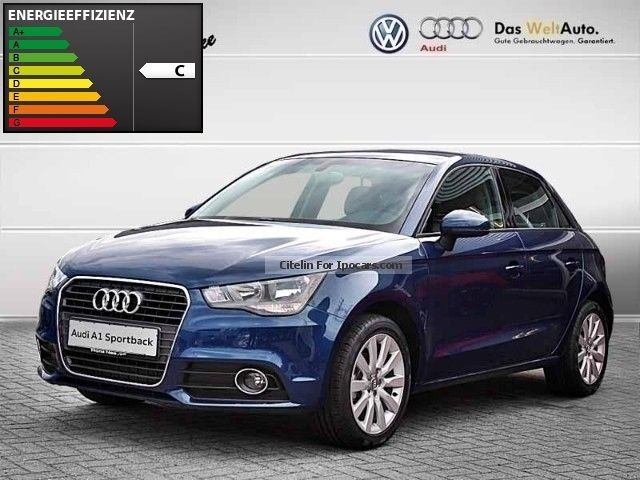 2013 Audi  A1 Sportback 1.2 TFSI Attraction AIR SHZ PDC Small Car Used vehicle photo