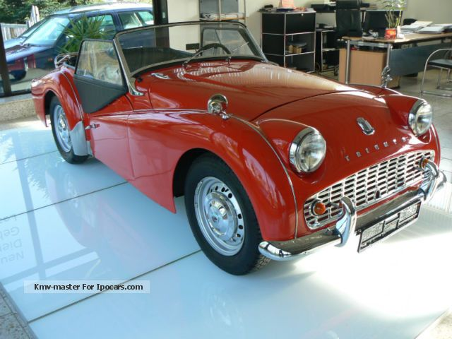 Triumph  TR3 1962 Vintage, Classic and Old Cars photo