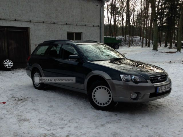 Subaru  Outback 2.5 2005 Liquefied Petroleum Gas Cars (LPG, GPL, propane) photo
