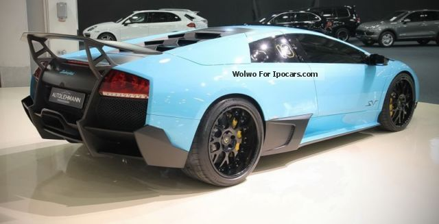 2009 Lamborghini Murcielago Lp670 4 Sv E Gear Car Photo And Specs