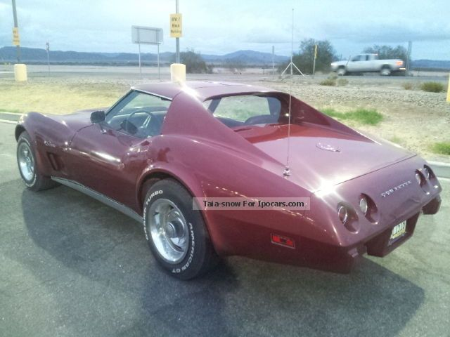 Corvette  C3 Targa! orig.57.000 mls! All original! 1975 Vintage, Classic and Old Cars photo