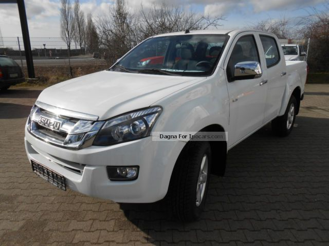 2014 Isuzu D-Max 4x4 Double Cab AUTM. Premium Off-road Vehicle/Pickup