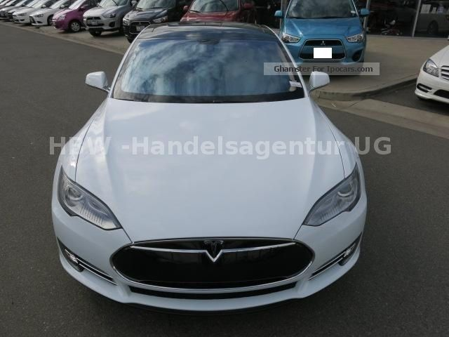 Tesla  S Performance * Beige * Export € 81.090. - 2013 Electric Cars photo