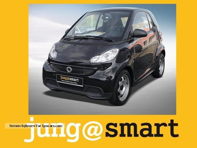 2013 Smart  fortwo coupe mhd Pure automatic Air Navi Small Car Employee's Car photo