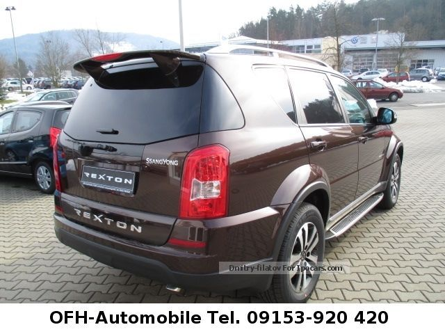 2012 ssangyong rexton car photo and specs. Black Bedroom Furniture Sets. Home Design Ideas