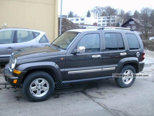 2005 jeep liberty limited specs