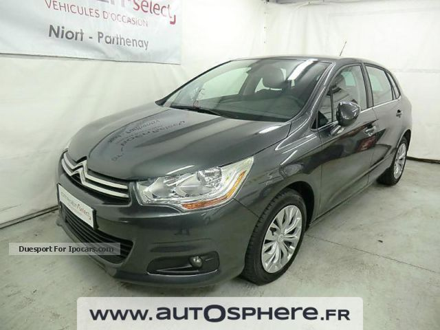 2013 citroen c4 1 6 hdi 90 fap confort car photo and specs. Black Bedroom Furniture Sets. Home Design Ideas