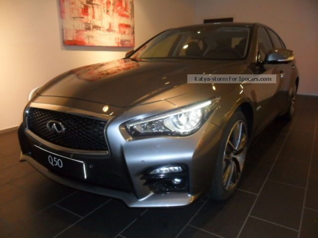 Infiniti  Q50 Hybrid AWD all-wheel drive 364PS LED Leather Navi 2014 Hybrid Cars photo