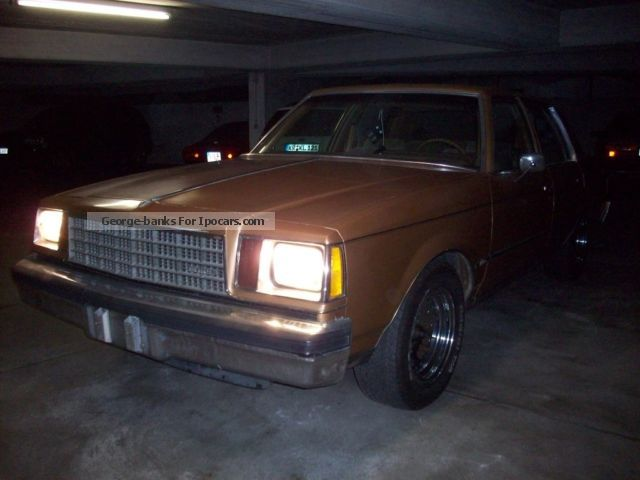 1980 Buick  Century Saloon Used vehicle photo