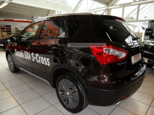 2013 suzuki sx4 s cross 1 6 ddis 4x4 comfort plus car photo and specs. Black Bedroom Furniture Sets. Home Design Ideas