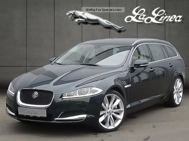 2012 Jaguar  XF Sport Brake 3.0 Diesel S Estate Car Used vehicle photo