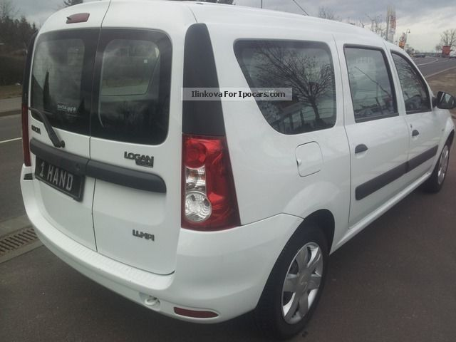 2009 dacia logan mcv kombi ambiance only 27tkm topzustand car photo and specs. Black Bedroom Furniture Sets. Home Design Ideas