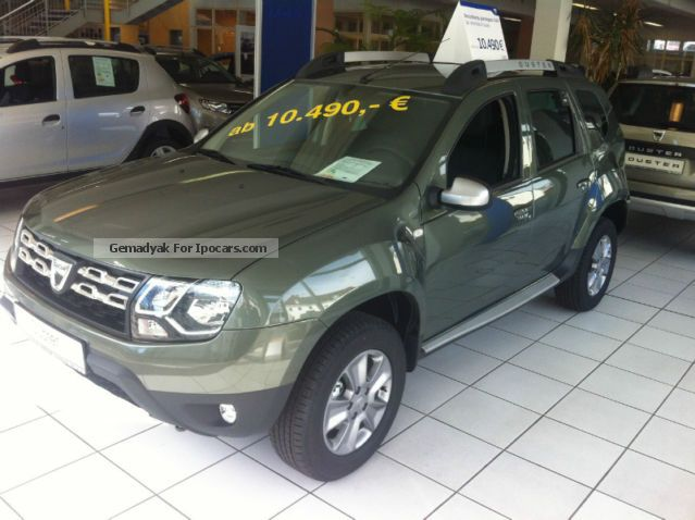 2012 dacia duster prestige tce 125 4x2 parking aid tempoma. Black Bedroom Furniture Sets. Home Design Ideas