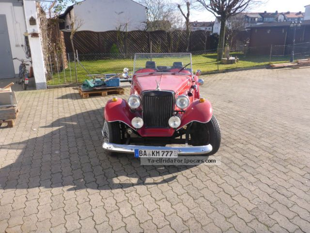 MG  TD Scheib Replica Replica 1977 Vintage, Classic and Old Cars photo