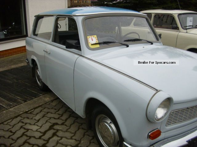 Trabant  Combined, IFA, DDR, Vintage 1977 Vintage, Classic and Old Cars photo