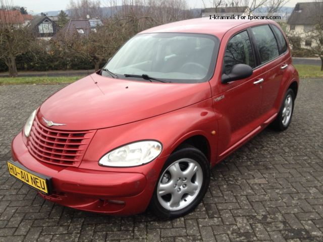 2002 chrysler pt cruiser 2 2 crd car photo and specs. Black Bedroom Furniture Sets. Home Design Ideas