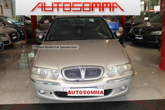 2001 rover 45 2 0 td connoisseur 5 porte km 100241 car for Porte saloon