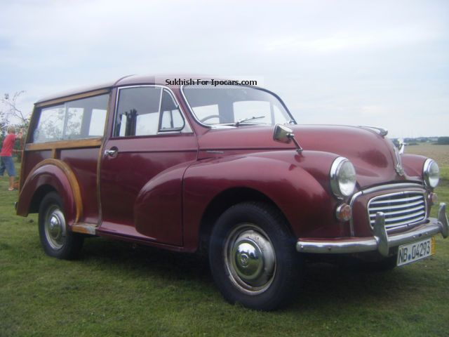 Austin  Morris Minor 1000 Taveller 1966 Vintage, Classic and Old Cars photo