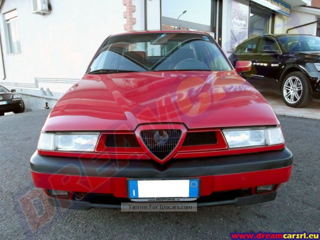 1994 Alfa Romeo  Alfa 155 1.8 Twin Spark d'Epoca Iscrivibile ASI Saloon Used vehicle photo