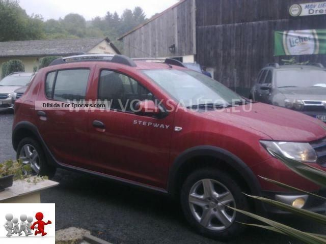 2012 dacia sandero 0 9 tce 90 ps stepway prestige car photo and specs. Black Bedroom Furniture Sets. Home Design Ideas