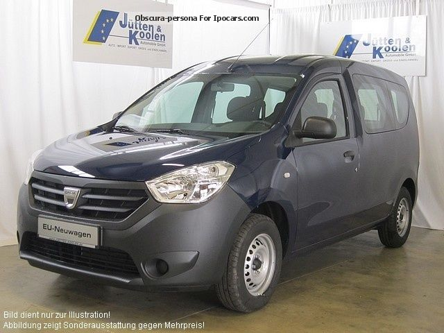 Dacia  Dokker Access 1.6 MPI 84 LPG 2012 Liquefied Petroleum Gas Cars (LPG, GPL, propane) photo