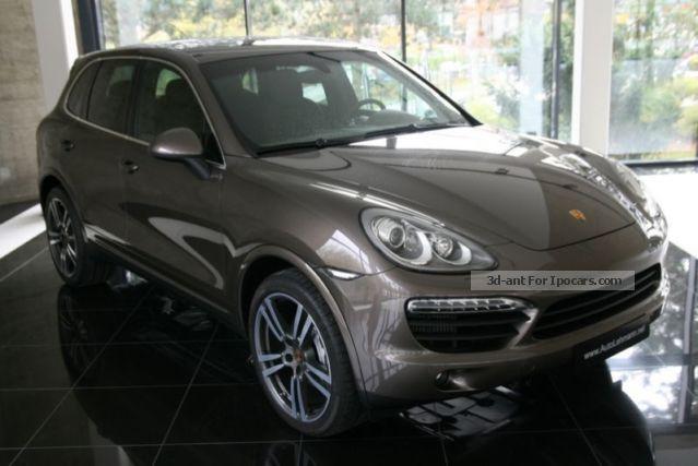 2013 Porsche Cayenne S Diesel 21 Zollkomfort Memory Package Car