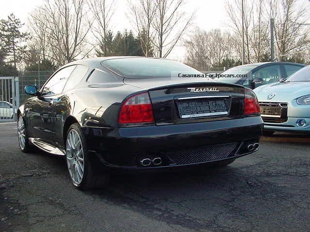2006 Maserati Grand Sport 4 2 Automatic Leather Navi