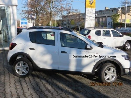 2012 dacia sandero stepway ambiance 0 9 tce 90 hp car. Black Bedroom Furniture Sets. Home Design Ideas