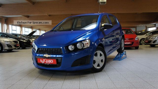 2012 Chevrolet  Aveo 1.4i LT + Start \u0026 Stop Air Temp ALU Small Car Used vehicle(  Accident-free) photo