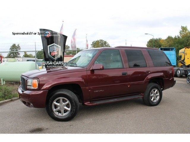 1999 GMC  Yukon YUKON DENALI Opruim weken! 5.7V8 Auto Off-road Vehicle/Pickup Truck Used vehicle photo
