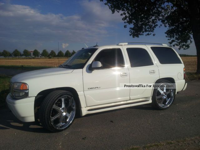 GMC  Yukon Denali 6l V8 4x4 LPG automatic leather 2004 Liquefied Petroleum Gas Cars (LPG, GPL, propane) photo