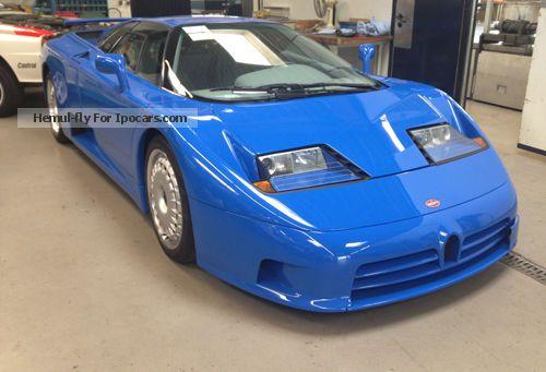 1996 Bugatti Eb 110 Gt Car Photo And Specs