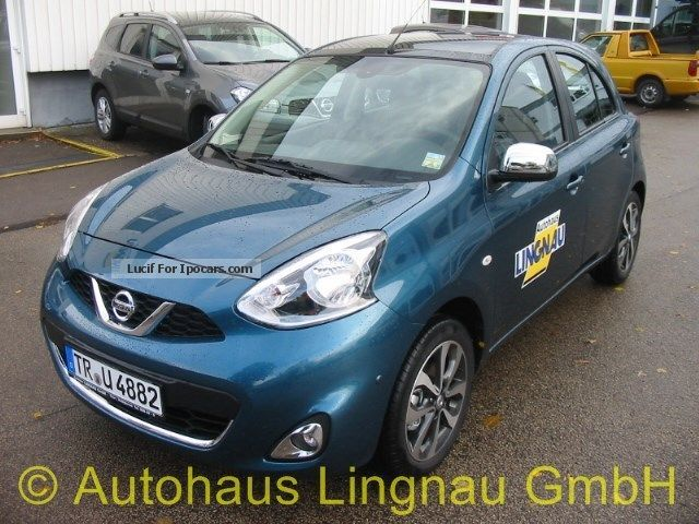 2013 Nissan  Micra 1.2 Tekna Chrome Small Car Demonstration Vehicle (  Accident-free ) photo