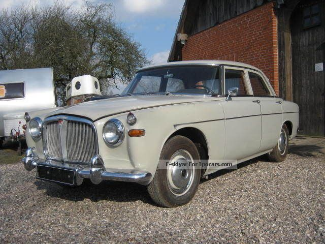 Rover  P5 3.0L Automatic LHD German letter 1960 Vintage, Classic and Old Cars photo