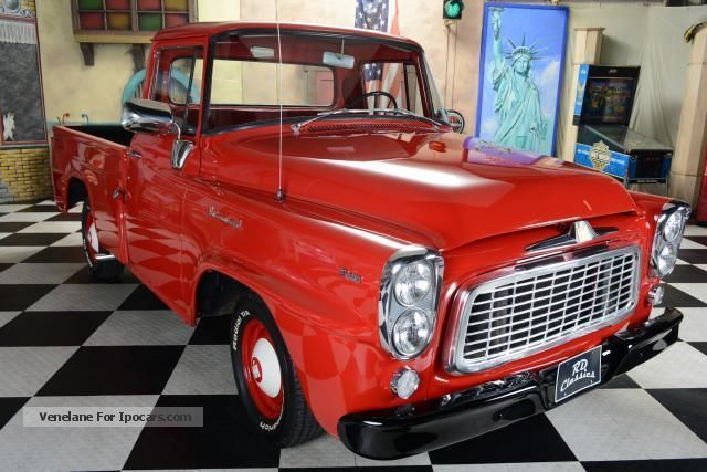 Chevrolet  C1500 International B-100 B100 1960 Vintage, Classic and Old Cars photo