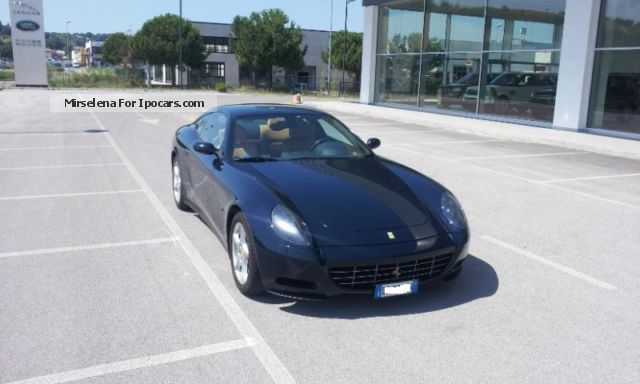 2012 Ferrari  612 Scaglietti F1 A Sports Car/Coupe Used vehicle photo