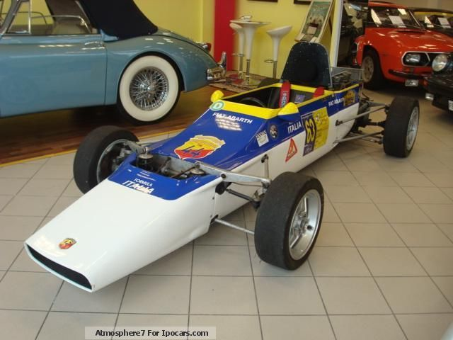 Abarth  SE 025 FORMULA ITALIA 1971 Vintage, Classic and Old Cars photo