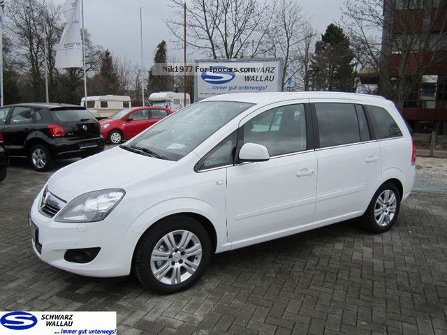 2013 opel zafira 1 8 family plus xenon car photo and specs. Black Bedroom Furniture Sets. Home Design Ideas