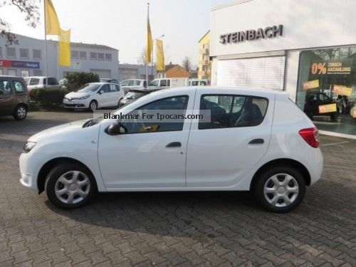 2012 dacia sandero ambiance 1 2 16v 75 hp car photo and specs. Black Bedroom Furniture Sets. Home Design Ideas