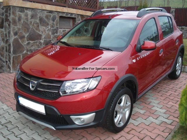 2013 dacia sandero stepway tce 90 prestige car photo and. Black Bedroom Furniture Sets. Home Design Ideas