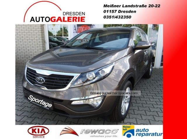 2012 Kia  Sportage 2.0 CVVT 2WD Air, Alloy wheels, Cruise control, Off-road Vehicle/Pickup Truck Demonstration Vehicle photo
