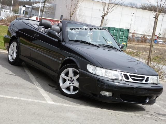 2003 saab 9 3 convertible 2 0 i 150 cv car photo and specs. Black Bedroom Furniture Sets. Home Design Ideas