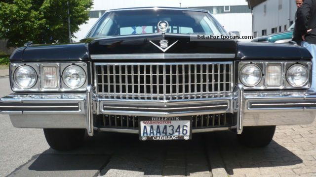 Cadillac  Deville 1973 Vintage, Classic and Old Cars photo