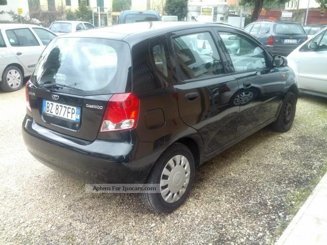 2002 daewoo kalos 1 4 cat 5 porte gpl car photo and specs for Porte saloon