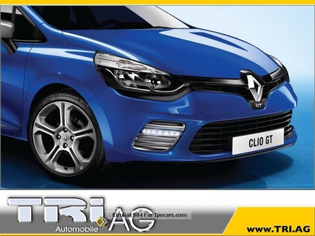 2012 renault clio tce 120 edc 4 gt air sports led automatic car photo and specs. Black Bedroom Furniture Sets. Home Design Ideas